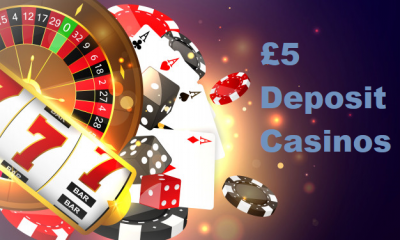 £5 minimum deposit casino sites